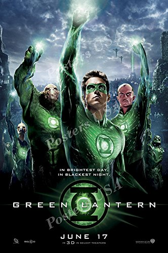 Posters USA - DC Green Lantern Movie Poster GLOSSY FINISH -