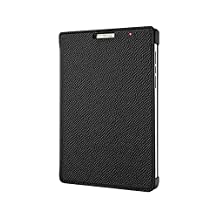 BlackBerry ACC62023001 Leather Flip Case Passport Silver Edition Black-1 Pack, Retail Packaging