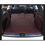 Pegasuss 3D Full Coverage Waterproof Car Trunk Mat For Audi Q7 2016-2018 7 Seats-Coffee