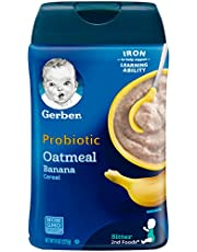 Gerber Baby Cereal DHA & Probiotic Oatmeal Baby Cereal
