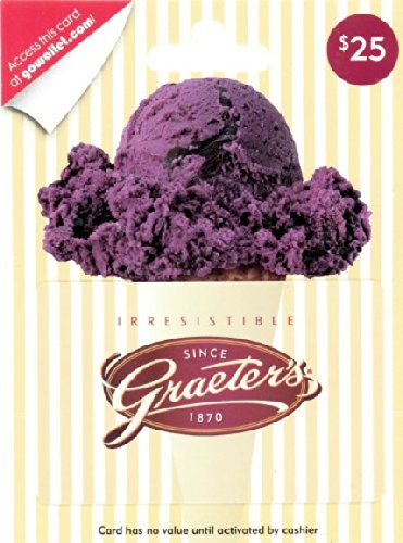 Graeter's Ice Cream $25 Gift Card