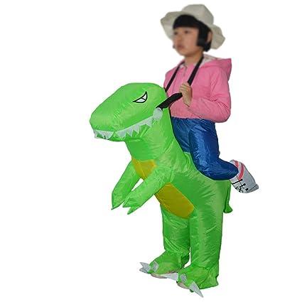 BOFEISI Dinosaurio Inflable Traje De Halloween De Los Niños ...