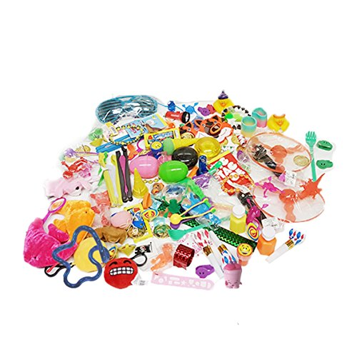 The Award Box- Stocking Stuffer Prize Box - Over 120 Assorted Treasure Box Prizes, Great For Parents, Teachers, Therapists, Doctor's Offices, Parties, Pinatas (120 Piece) Great Stocking