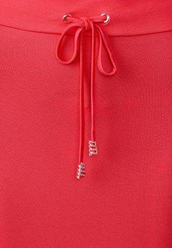 Street One Damen Rock Hibiscus Red Rot oWs2xZGc - lackey.tischlerei ... 1643ed5f50