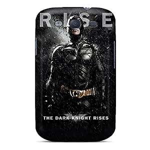 Fashion Tpu Case For Galaxy S3- Batman The Dark Knight Rises Defender Case Cover