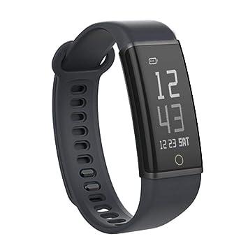 Reloj Inteligente, Lenovo HX03 Monitor de Ritmo cardíaco y podómetro, Impermeable, Pulsera Inteligente: Amazon.es: Electrónica