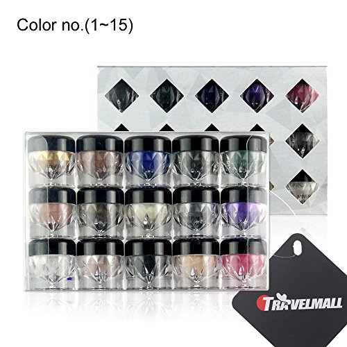 Travelmall Mineral Eyeshadow Pigments Cosmetic