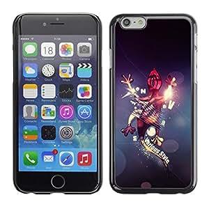 Be Good Phone Accessory // Dura Cáscara cubierta Protectora Caso Carcasa Funda de Protección para Apple Iphone 6 Plus 5.5 // Abstract Gecko Lizard