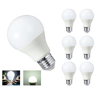 Hhd Lot De 6 Ampoule Led E27 A60 7w 630lm Equivalent 60w A Ampoule