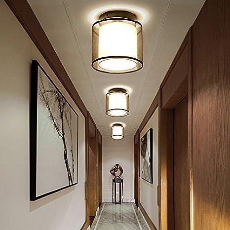 BBSLT Navidad estilo chino, lámpara de techo, LED, paseo ...