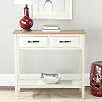 Safavieh American Homes Collection Carol White Console Table