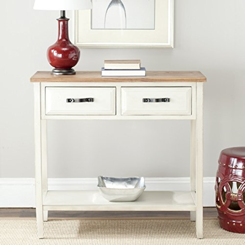 Collection Tall Table (Safavieh American Homes Collection Carol White Console Table)