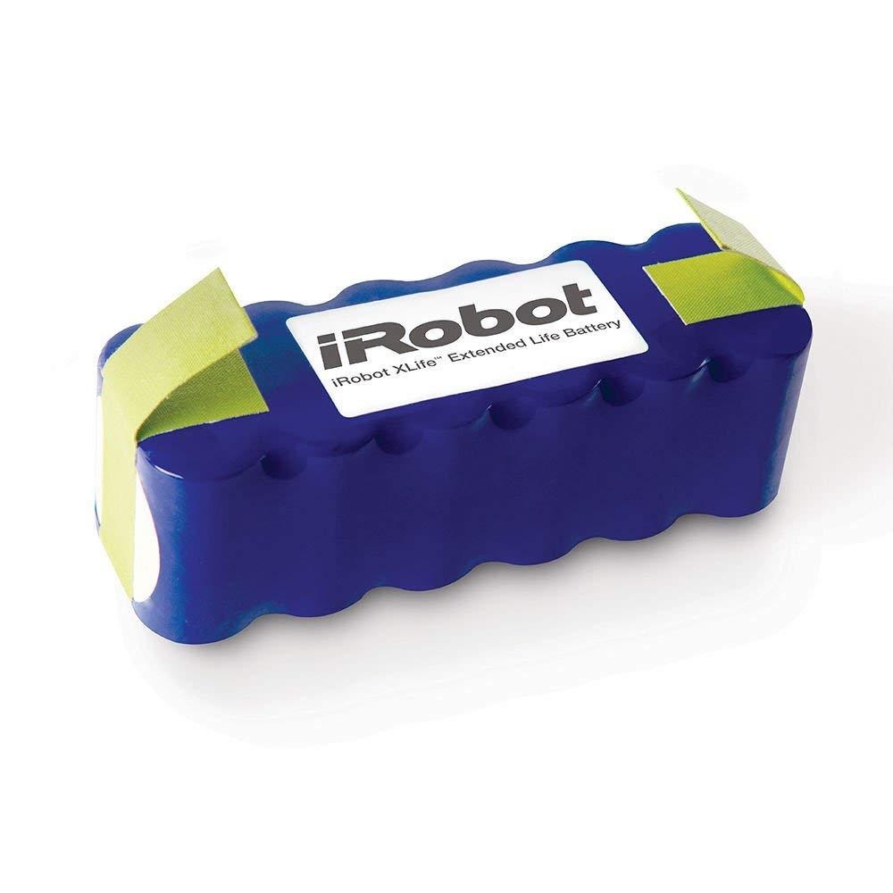 iRobot XLife Extended Life Battery Accessories, Blue (Renewed)