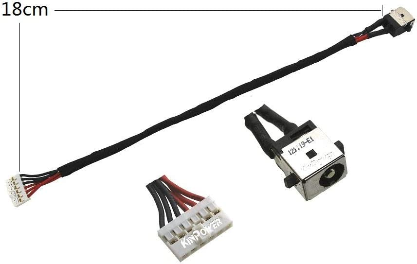 KINPOWER DC Jack Connecteur Alimentation pour ASUS N551JW N551JX N551VW N551ZU Model Version 2
