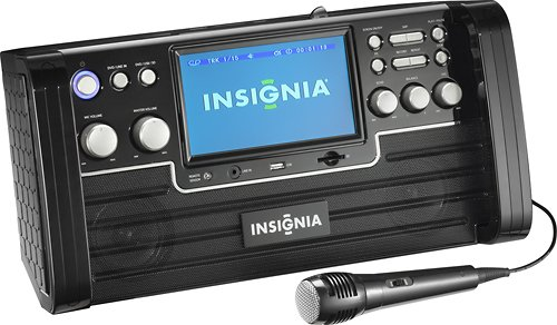 (Insignia CD+G Karaoke System with 7
