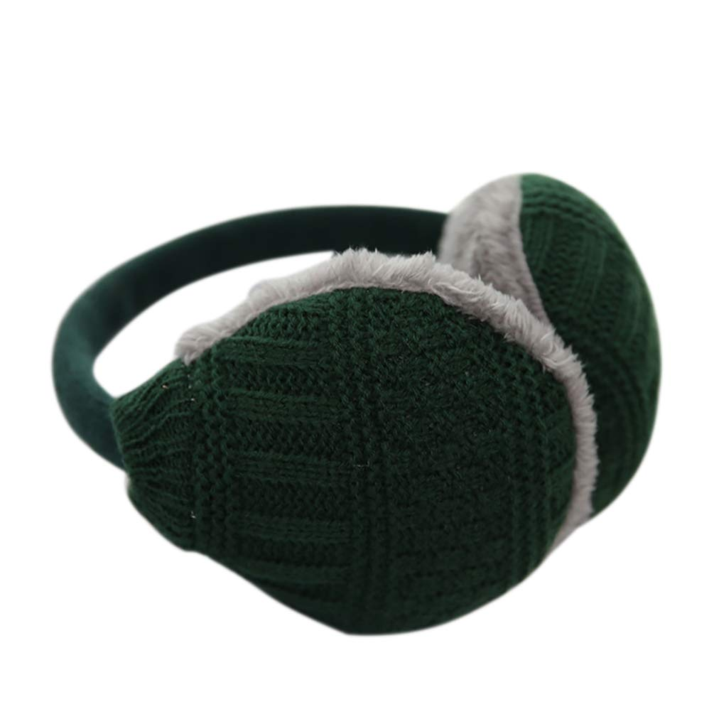 NICOLA Men Women Warm Knitted Earmuffs Removable And Washable Winter Earmuffs