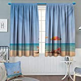 Best Disney Travel Beach Chairs - Seaside Thermal Insulating Blackout Curtain Beach Chair Umbrella Review