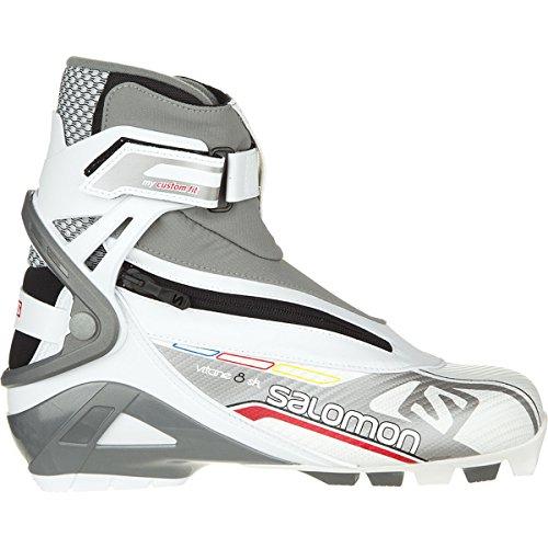 Lunga corsa scarpe stivali donna 8 Skate skating Vitane CF 2014/15, Bianco (bianco), 4.5