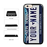 iphone 5 case new york yankees - BleuReign(TM) Personalized Custom Name 2000s New York State License Plate TPU RUBBER SILICONE Phone Case Back Cover For Apple iPhone 8 Plus and iPhone 7 Plus