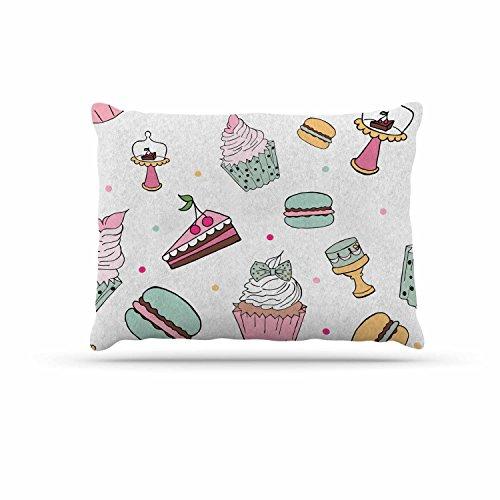 KESS InHouse Louise ''Sweet Cake'' Pastel Food Dog Bed, 30'' x 40'' by Kess InHouse