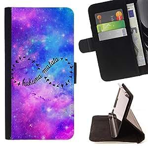 - Elephant Space Aztec - - Monedero PU titular de la tarjeta de cr?dito de cuero cubierta de la caja de la bolsa FOR Samsung Galaxy S5 Mini, SM-G800 Retro Candy