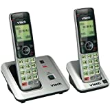 VTEVTCS66192 - VTECH VTCS6619-2 DECT 6.0 Expandable Speakerphone with Caller ID (2-Handset System)