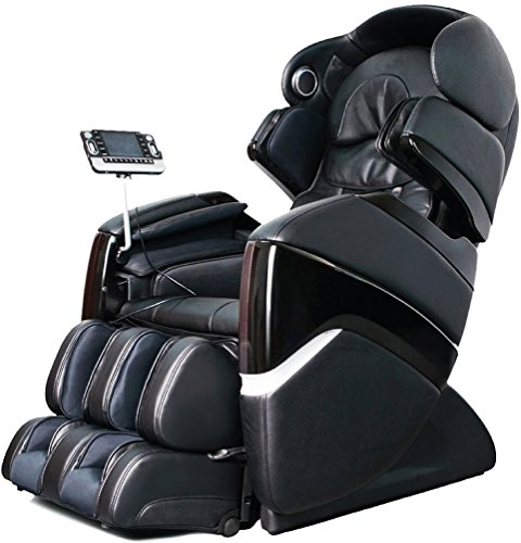 Osaki Os-Pro Cyber Electric Full Body Massage Chair, Evolved 3D Massage Technology, Computer Body Scan, 2 Stage Zero Gravity, Dual Foot Roller Massage (Black)