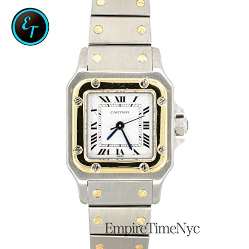 Cartier Santos Galbee automatic-self-wind womens Watch 1567 (Certified Pre-owned)