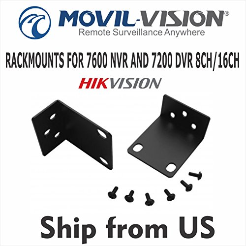 Rackmount Video - BRACKET HIKVISION RACKMOUNTS FIT 7600 NVR AND 7200 DVR 8CH/16CH