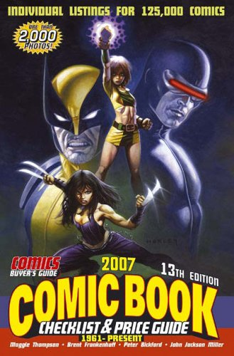2007 Comic Book Checklist and Price Guide: 1961 to Present ePub fb2 ebook