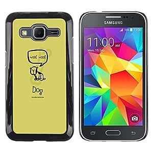 Dragon Case - FOR Samsung Galaxy Core Prime - to make someone strong - Caja protectora de pl??stico duro de la cubierta Dise?¡Ào Slim Fit