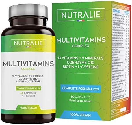 Multivitaminas y Minerales + Coenzima Q10  