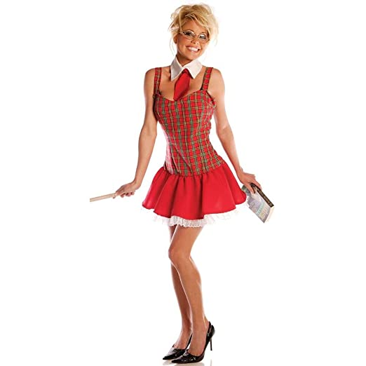 923782a84 Image Unavailable. Image not available for. Color: Underwraps Adult Sexy  School Girl Costume ...