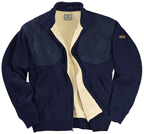 Beretta Men's Sweater Bear Lining, Medium, Navy by Beretta