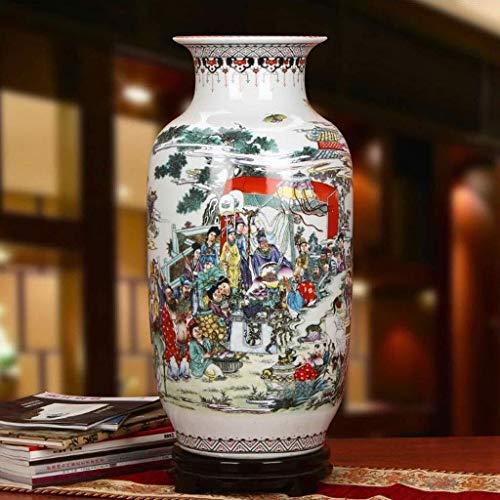 Vases Peinture Traditionnelle Chinoise Fleurs Accueil Décorations Flour Embellissez Downy Excellente Porcelaine…
