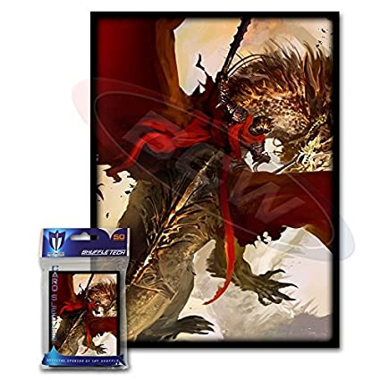 Amazon.com: 100 Carmesí Rider Dragon Deck protectores Max ...