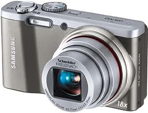 Samsung WB700 cámara digital (14,2 Megapixel, 18x zoom óptico, pantalla de 3 pulgadas, 24mm gran angular, estabilizador de imagen) [Importado de Alemania] plateado