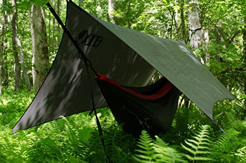 ENO Eagles Nest Outfitters - ProFly Rain Tarp, Ultralight Hammock Accessory, Charcoal