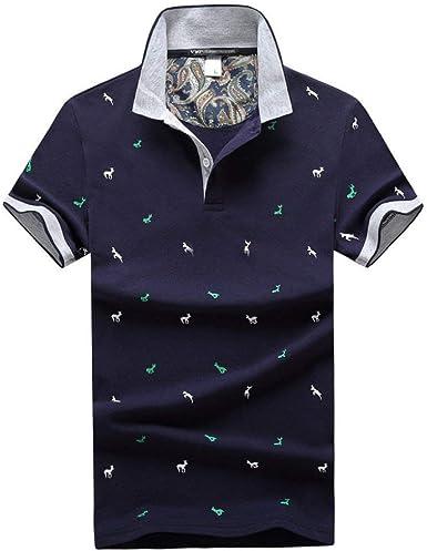 Camisa De Polo De Algodón De Los Hombres Mode De Camisa Marca ...