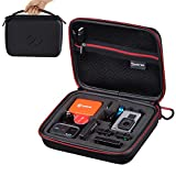 Smatree Carrying Case Compatible for GoPro Hero 7, 6, 5, 4, 3 Plus, 3, 2, 1,GoPro Hero (2018),DJI Osmo Action Camera(Camera and Accessories Not Included)