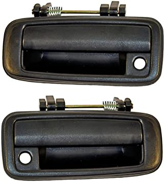Pair For Corolla Geo Prizm 93-97 Front Outside Exterior Door Handles Left Right