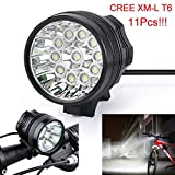 Flashlight,Baomabao 28000LM 11 x CREE XM-L T6 LED 8 x 18650 Bicycle Cycling Light Waterproof Lamp