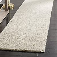 Safavieh Arizona Shag Collection ASG820A Southwestern Cream Runner (23 x 8)