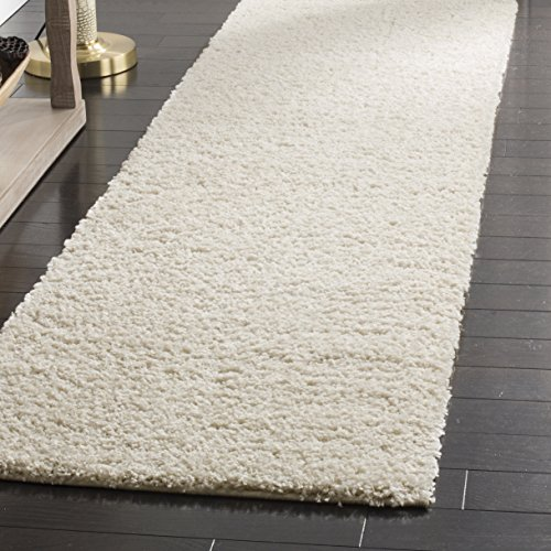 Safavieh Arizona Shag Collection ASG820A Southwestern Cream Runner (2'3