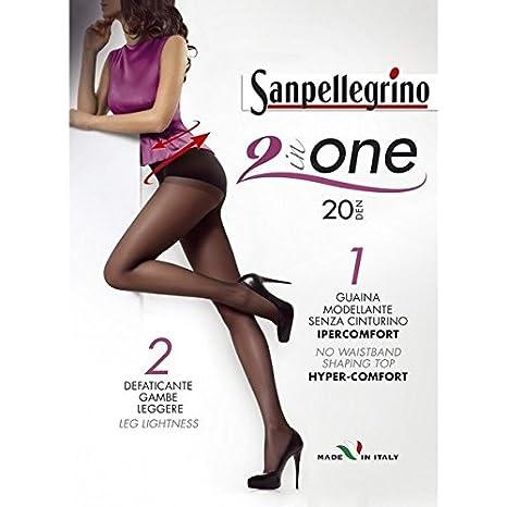 negozio online molto carino bambino Sanpellegrino calze collant 2 in uno 20 denari colore nero ...