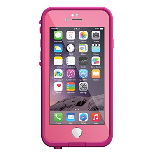 LifeProof FRE iPhone 6 ONLY Waterproof predicament 47 Version Retail Packaging strength PINK gentle raised DARK raised Electronics Features
