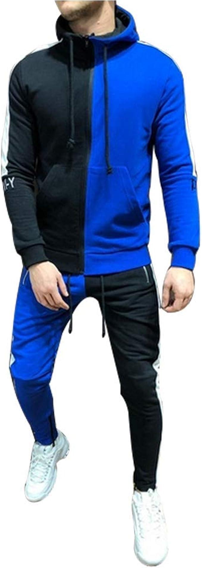 pipigo Mens Quick Dry Gym Workout Summer T-Shirt Sport Shorts 2 Piece Outfits Tracksuits