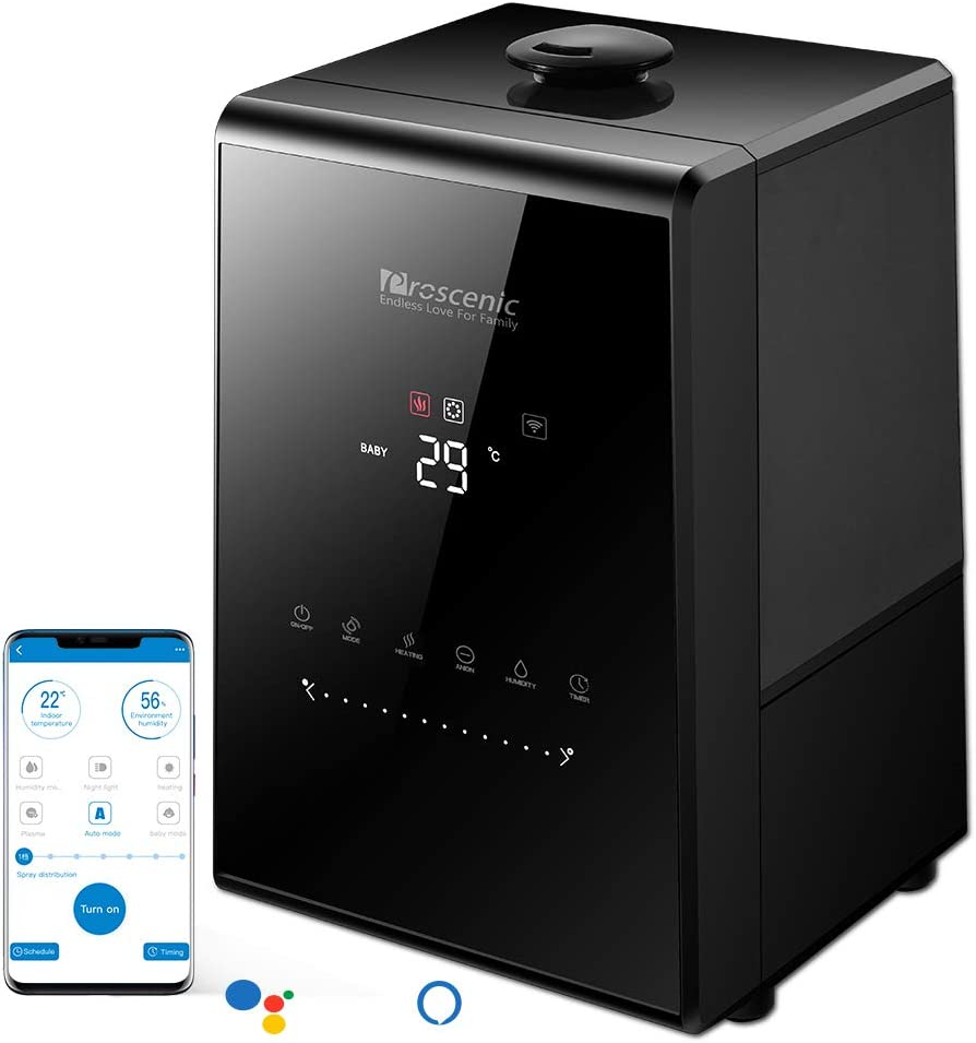 Humidificador Proscenic 808C compatible con Alexa por 71€