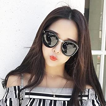 ad0631986fe Sunyan The Korean version of the retro big box sunglasses