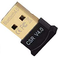Berrywho Bluetooth 4.0 USB de Baja energía Micro Dongle Adaptador para PC con Windows 10/8,1/8/7 / Vista/XP, Frambuesa…
